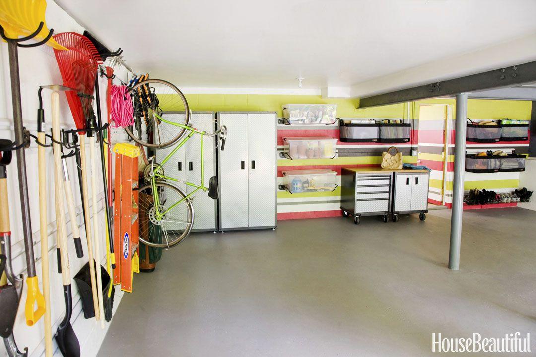 Garage Organization Ideas for   Your Eye-Soothing Garage