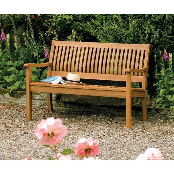 Shop English Garden 48-inch Wooden Bench - On Sale - Free Shipping