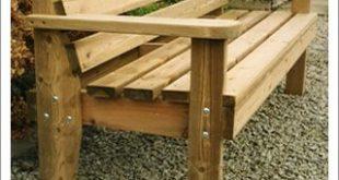 garden wooden benches - Google Search | Furniture plans | Pinterest
