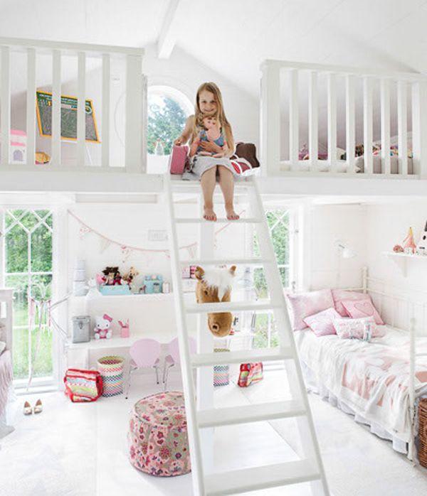 little girls bedroom ideas | bedrooms is designed for two little