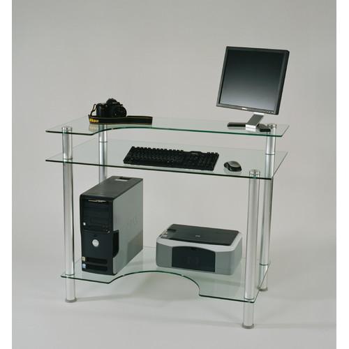 Tier One Designs Glass Computer Desk - Walmart.com