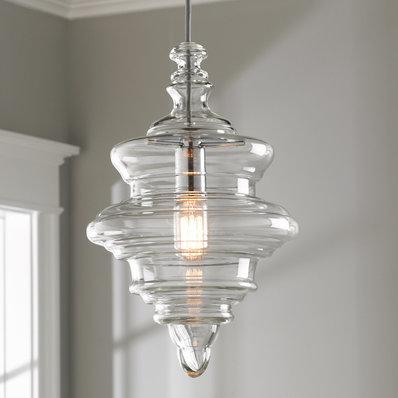 Glass Pendant Lights | Clear & Blown Glass Pendants - Shades of Light