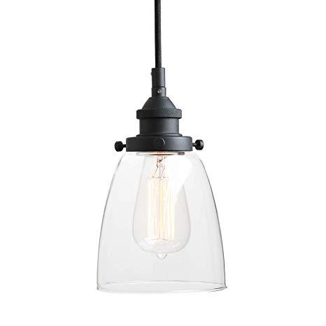 Pathson Retro Pendant Lighting, Industrial Small Hanging Light with