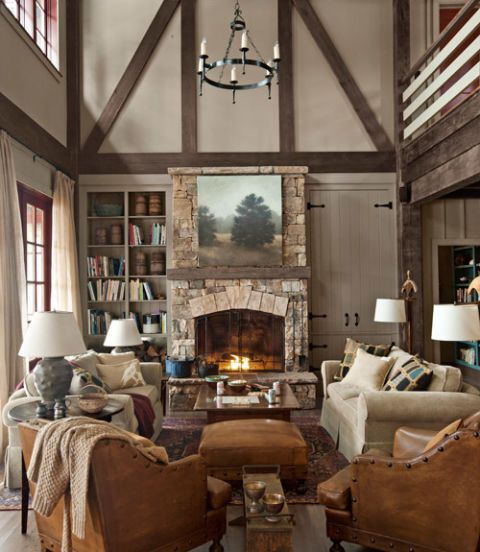 Rustic Lake House Decorating Ideas - Cabin Decor Ideas