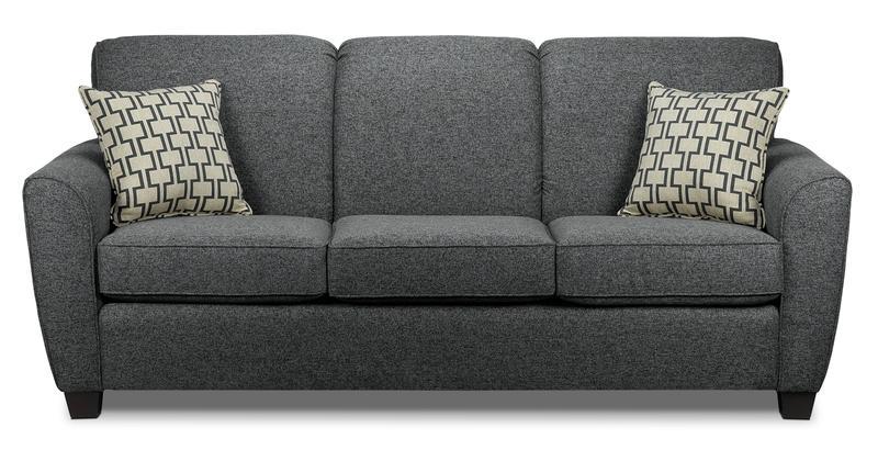 Ashby Queen Sofa Bed - Grey   Leon's