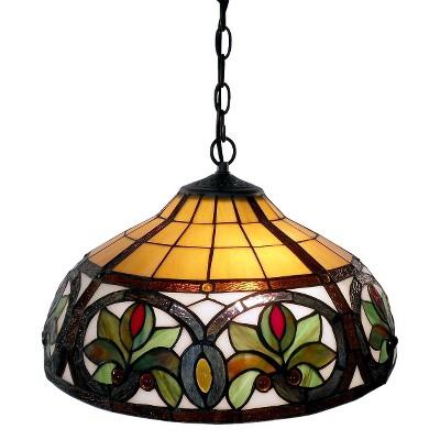 Tiffany-Style Hanging Lamp : Target