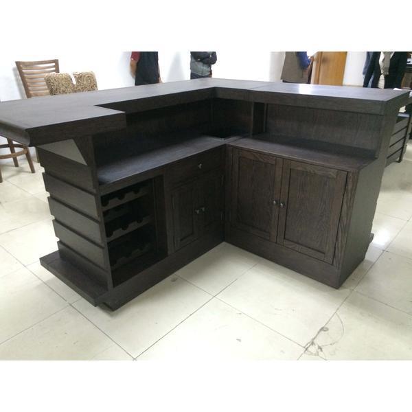 Shop ECI Furniture Toscana Return Home Bar - Black Oak Finish Online