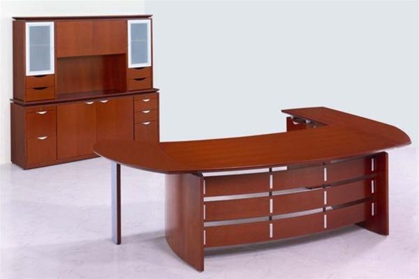 Techno Executive 'L' Shape Office Desk - Rudnick. Discounted