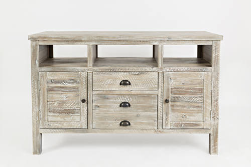 Artisan's Craft Washed Grey 50 Inch Media Console by Jofran Furniture