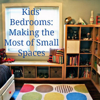 Children's Bedrooms in Small Spaces: Top Tips | DIY Home Decor