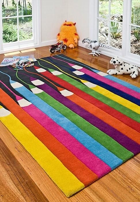 Kids' Rugs Are Not Just For Decoration, But An Educational Method