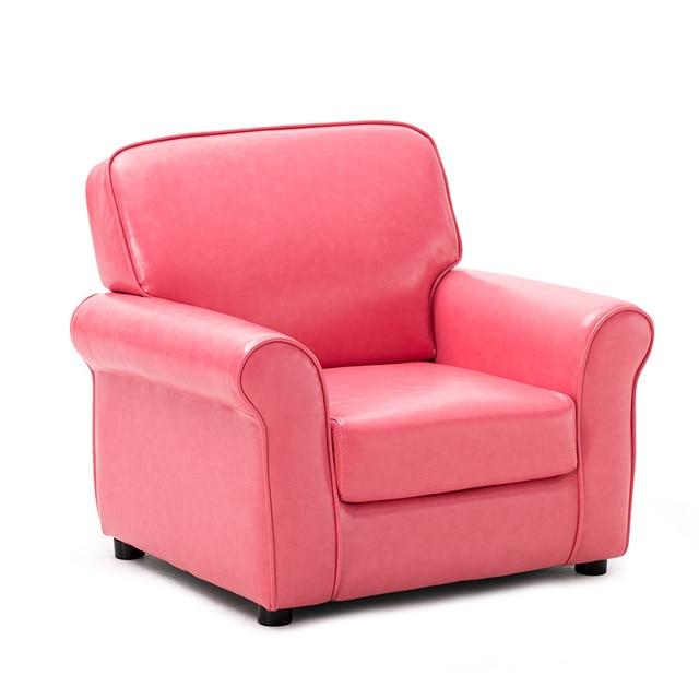 Modern PU Leather Kids Sofa Chair Armchair For Children Furniture