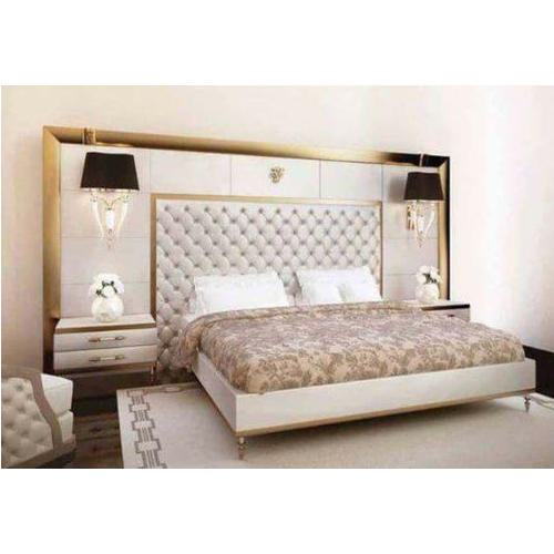 Local Dark Brown Wooden King Size Bed, Rs 38000 /piece, Chauhan
