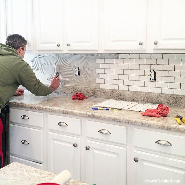How to Install a Kitchen Backsplash - The Best and Easiest Tutorial