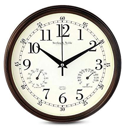 Amazon.com: 9 Inch Silent Wall Clocks Modern Designs with