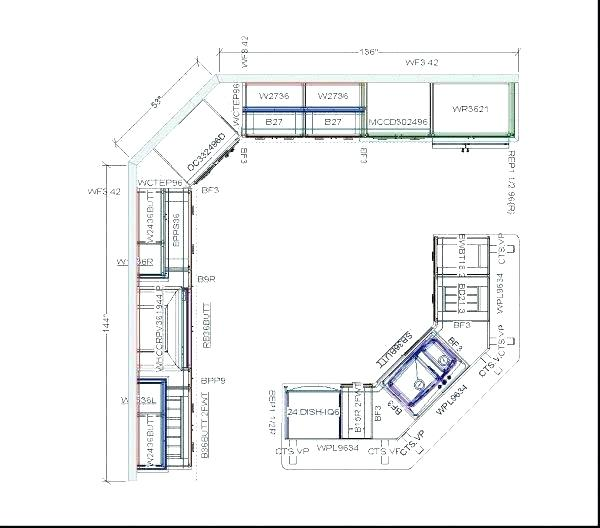 Kitchen Cabinet Shop Drawings Kitchen Cabinet Floor Planner Draw