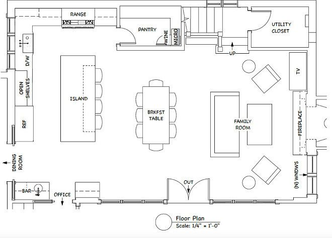 The Ultimate Gray Kitchen Design IdeasThe room is 35u2032-8u2033 long by 23