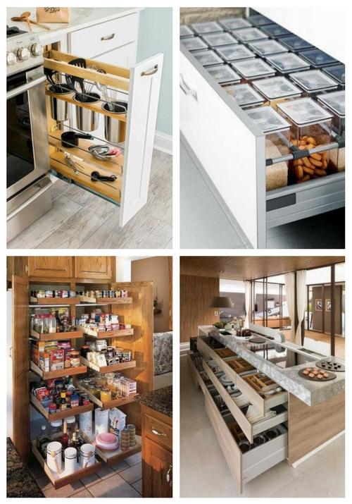 Kitchen Organization   ComfyDwelling.com