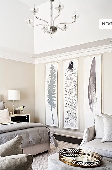 Decorating Large Walls - Large Scale Wall Art Ideas   Living