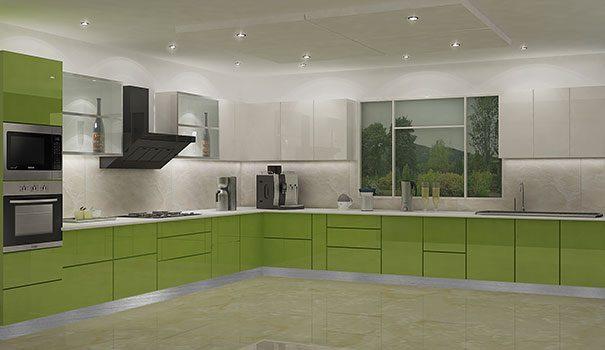 Acrylic Kitchen Cabinets u2013 The Latest Indian Kitchen Design Style