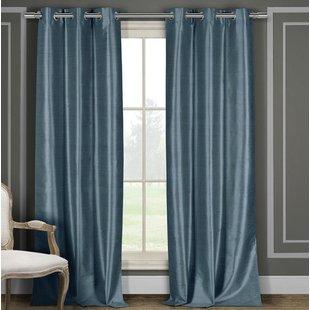 Solid Light Blue Curtains | Wayfair