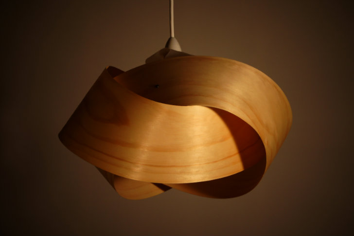Couple Handcrafts Spectacular Minnow Light Shades with Responsible