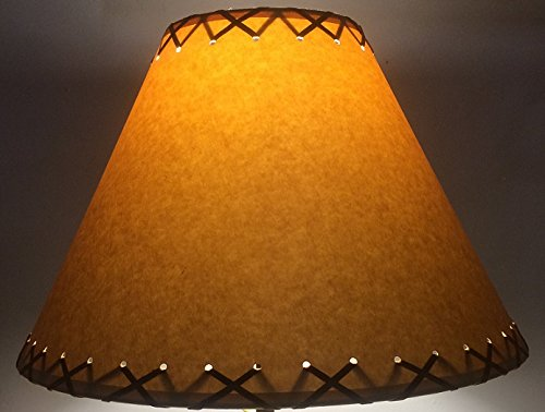 Rustic Lamp Shades (12 inch Rustic Laced) - - Amazon.com