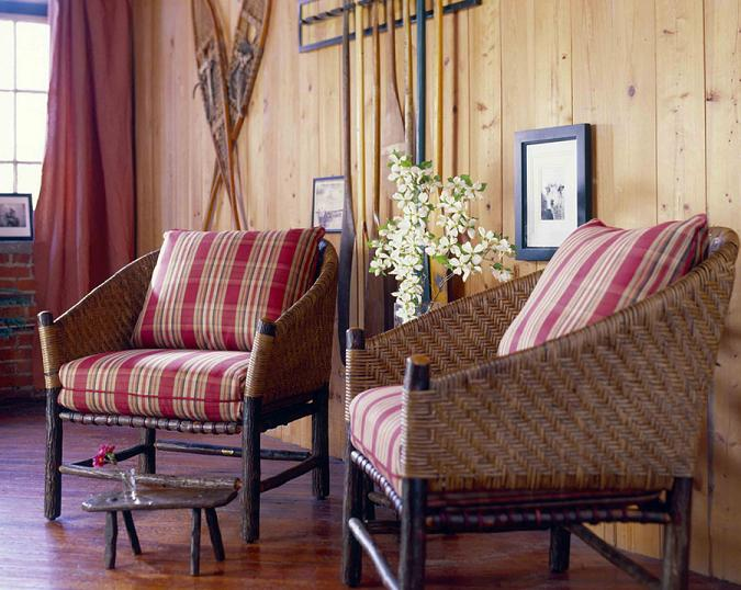 Captain's Chair - Old Hickory Furniture - Lodge Craft