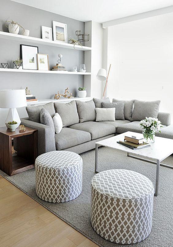 Design Tips: Small Living Room Ideas | Living Room | Modern