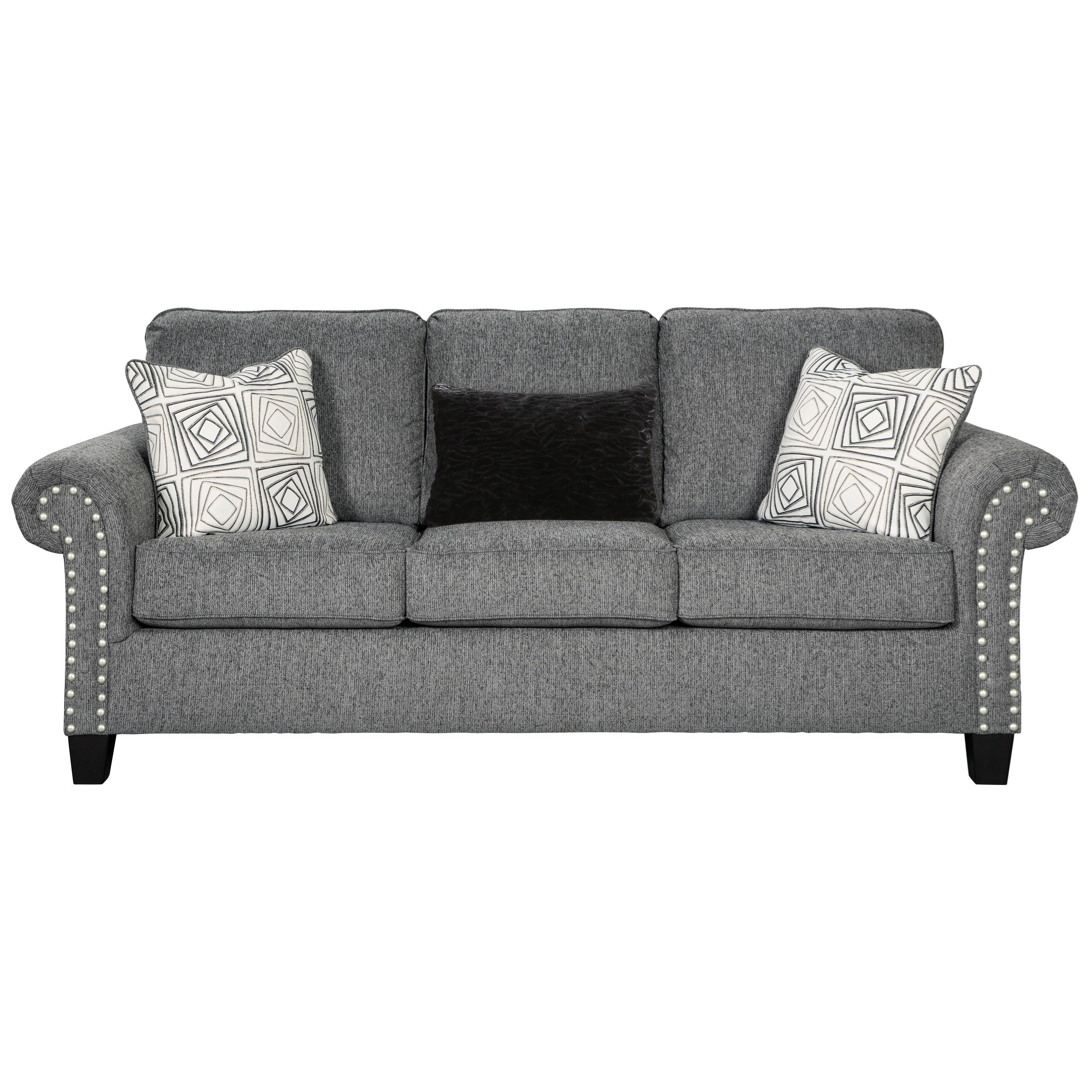 Benchcraft Agleno Queen Sofa Sleeper with Memory Foam Mattress