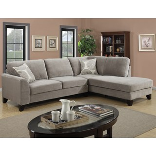 The Beauty Of Microfiber   Sectional Sofa