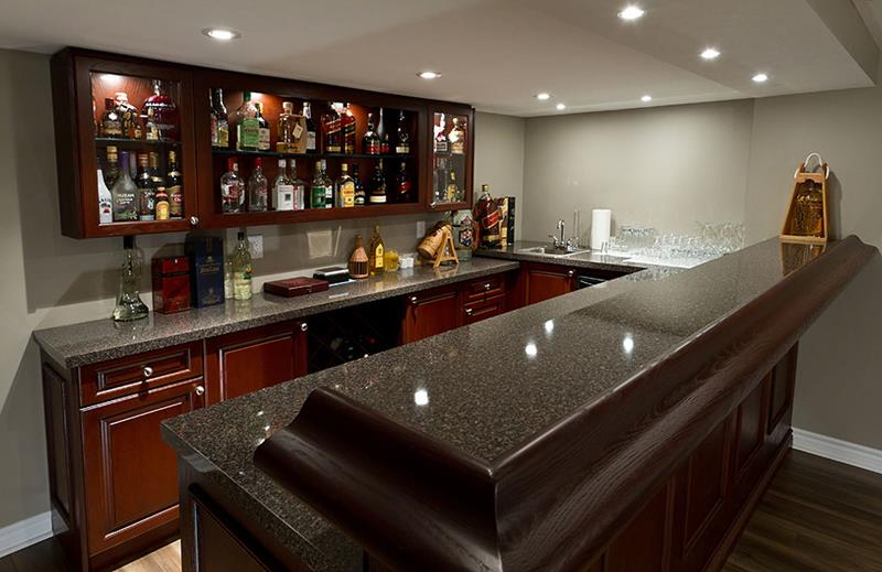 Modern Basement Bar Pictures : Finished Basement Bar Pictures in