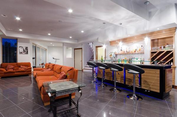 modern-basement-bar-for-man-cave-ideas   Home Design And Interior