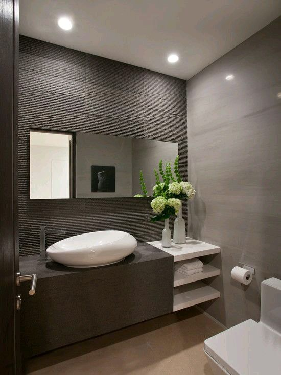 Renew Your Small Bathroom With Modern Decor | Small Bathroom with