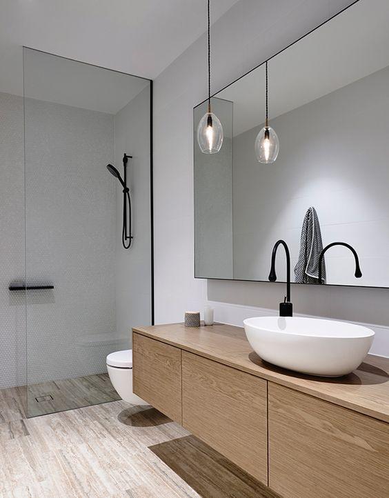 30 Chic And Inviting Modern Bathroom Decor Ideas - DigsDigs