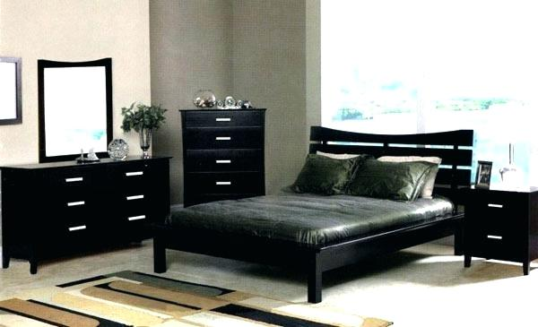 Beautiful and Modern Black   Bedroom Furniture Sets Ideas