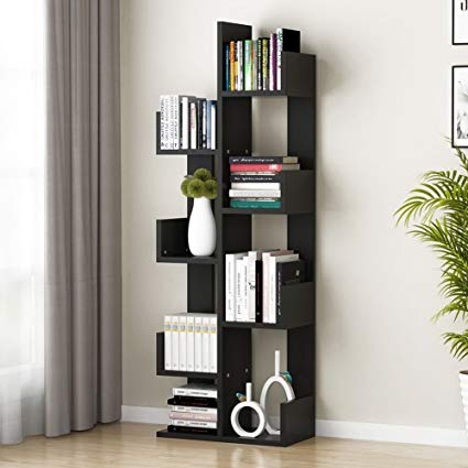 Amazon.com: Tribesigns 8-Shelf Tree Bookshelf, Modern Bookcase Book