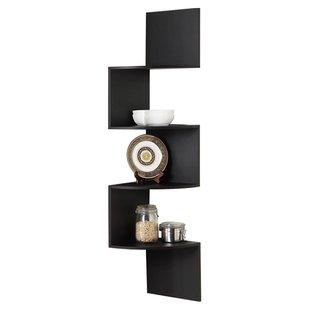Modern & Contemporary Floating Corner Shelf Unit | AllModern