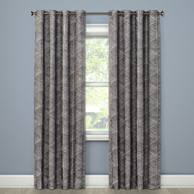 Modern Stroke Curtain Panels 84