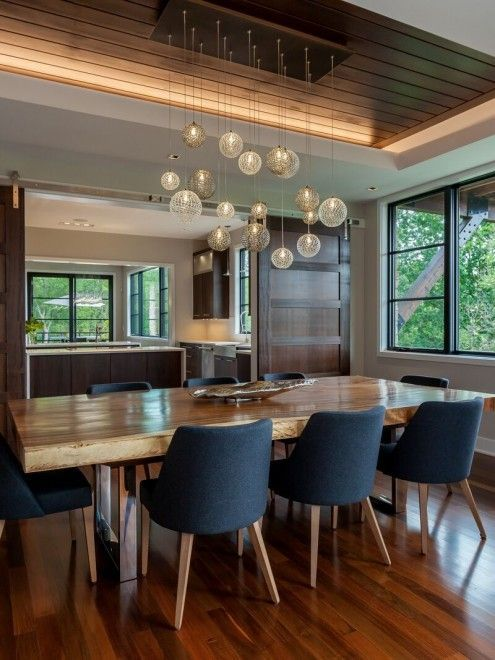 64 Modern Dining Room Ideas and Designs | Chandelier | Mid century