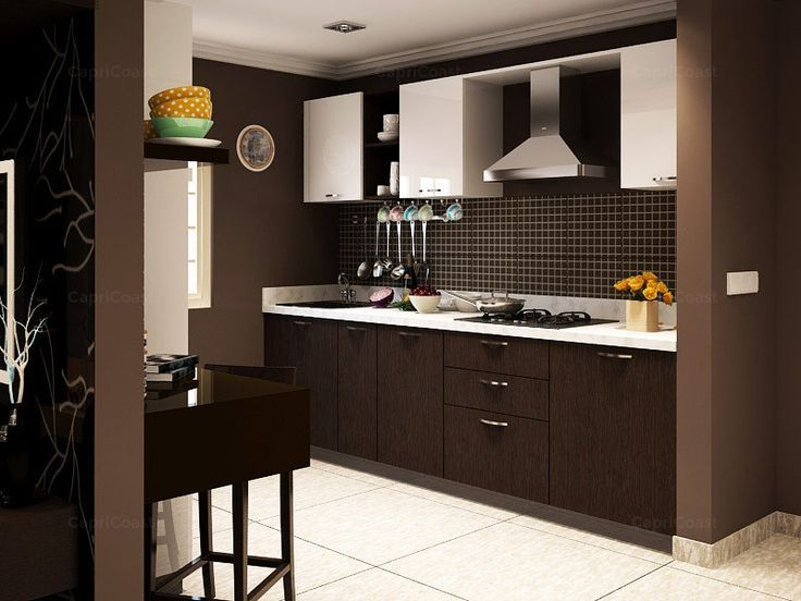 T Shaped Modular Kitchen Designer in India - Call Bella Kitchens for