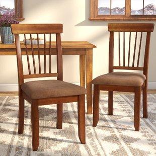 Dark Oak Dining Chairs | Wayfair