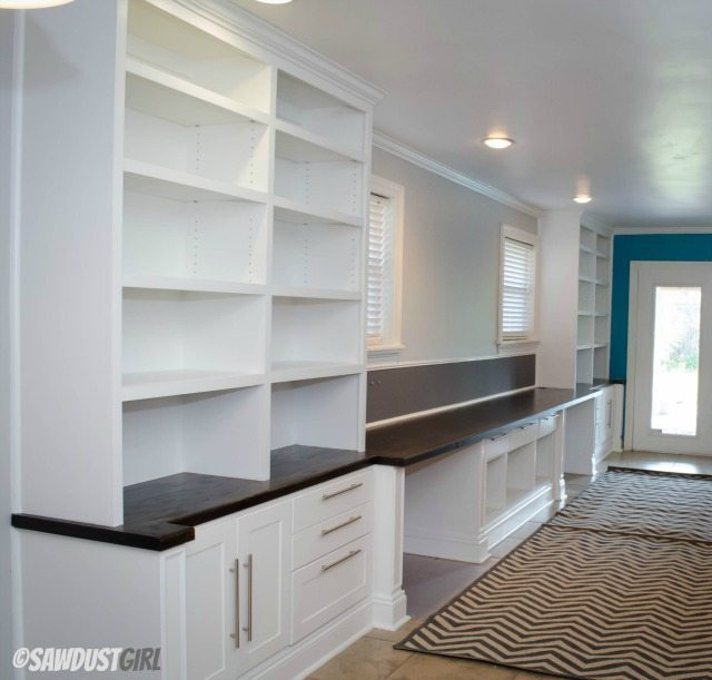 Built-in Office Cabinets