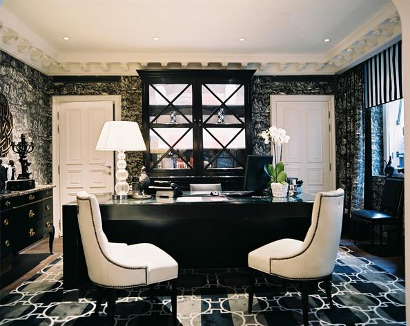 Executive Office in Hotel Keppler - Home Office Design Ideas - Lonny