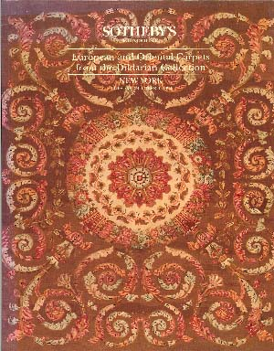 European and Oriental Carpets from the Dildarian Collection October