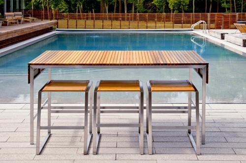Outdoor Bar Furniture by Edwin Blue - modern contemporary