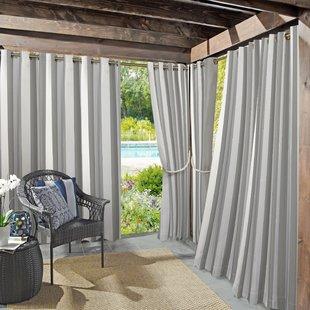 Outdoor Curtains You'll Love   Wayfair