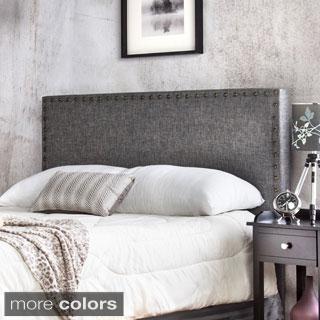 Shop Furniture of America Adjustable Nailhead Trim Flax Upholstered