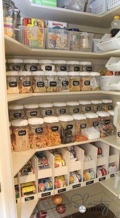 103 Best Pantry Organization images | Butler pantry, Kitchen