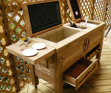 Here Are Some Inspiration For   Designing Your Own Patio Bar